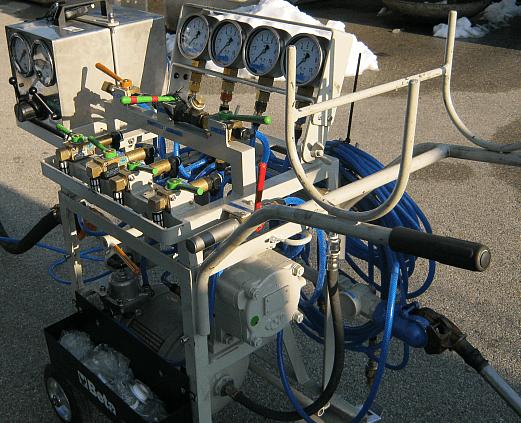 Проверка на пневматичната спирачка на товарни вагони с KE-спирачка.